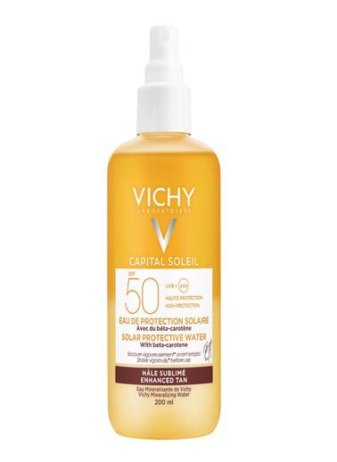 Vichy Vichy Capital Soleil Solar Protective Water SPF50 200ml Renksiz